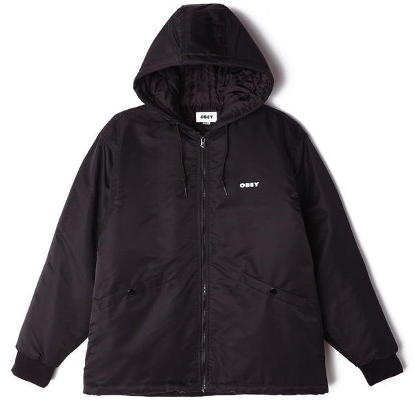 OBEY 121800436 ULTRA BOMBER JACKET BLACK available at off the hook Montreal