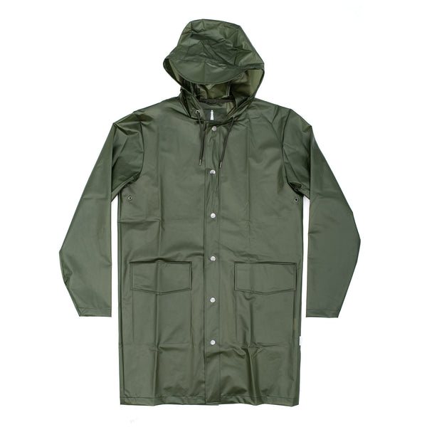 Hooded Coat Foggy Green