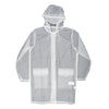 Hooded Coat Foggy White