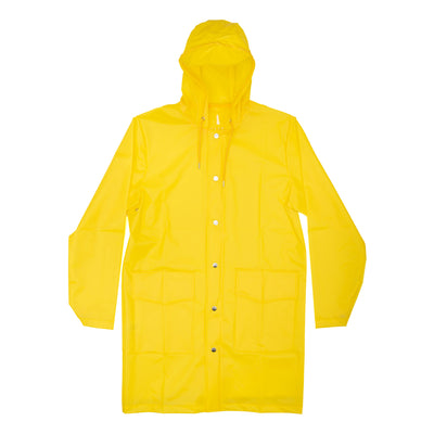 Rains Hooded Coat  - Yellow - Front - Off The Hook Montreal