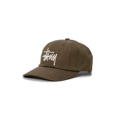 131977 Big Logo Twill Low Pro Cap  - olive - front - available at off the hook montreal #color_olive