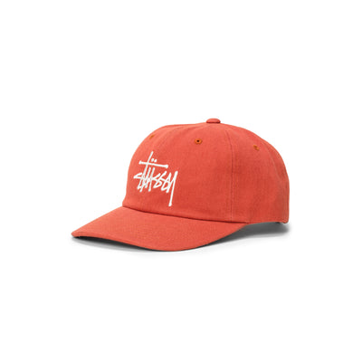131977 Big Logo Twill Low Pro Cap  - orange - front - available at off the hook montreal #color_orange