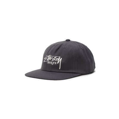 Stussy Designs Cap - charcoal - Front - Off The Hook Montreal #color_charcoal