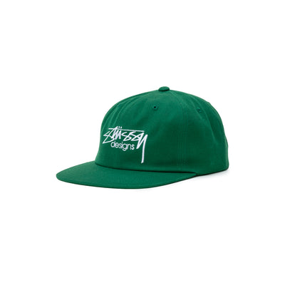 Stussy Designs Cap - green - Front - Off The Hook Montreal #color_green