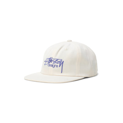 Stussy Designs Cap - White - Front - Off The Hook Montreal #color_white