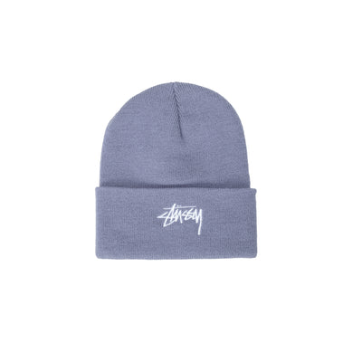 1321020 Stock Cuff Beanie - french blue - front - available at off the hook montreal #color_french-blue