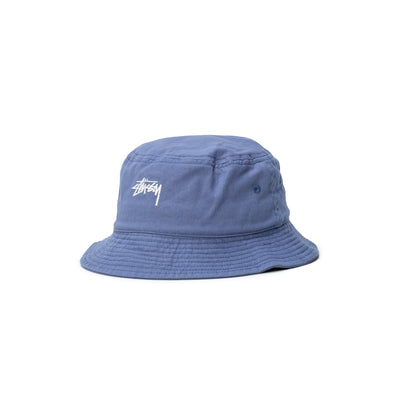 1321023 Stock Bucket Hat - blue - front - available at off the hook montreal #color_blue