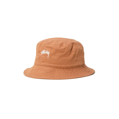 1321023 Stock Bucket Hat - khaki - front - available at off the hook montreal #color_khaki
