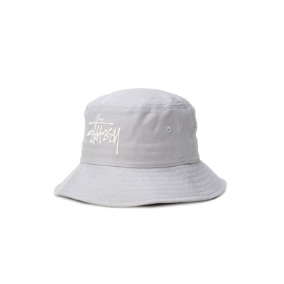 1321024 Big Logo Twill Bucket Hat - front - available at off the hook montreal #color_ice-blue