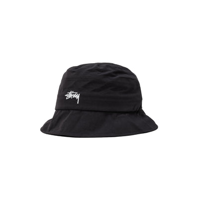 1321030 Outdoor Panel Bucket Hat - Black - Front - available at off the hook montreal #color_black
