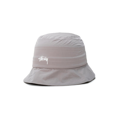 1321030 Outdoor Panel Bucket Hat - Grey - Front - available at off the hook montreal #color_grey