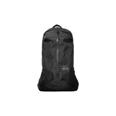 Stussy 25L Backpack - Black - Front - Off The Hook Motnreal