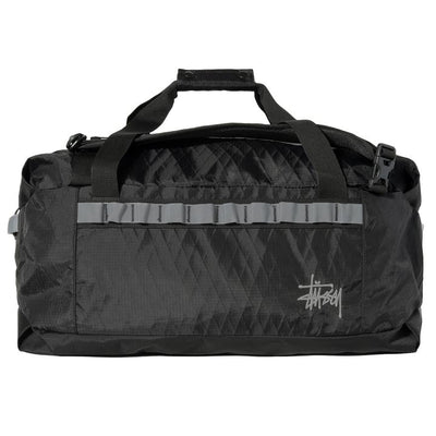 Stussy 134232 55L 2Way Duffle Bag Black front available at off the hook montreal