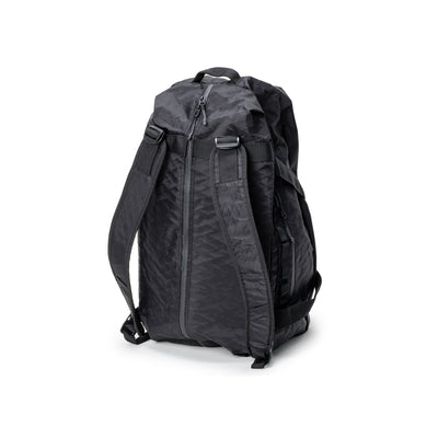Stussy 55L Duffle Bag - Black - Back - Off The Hook Montreal