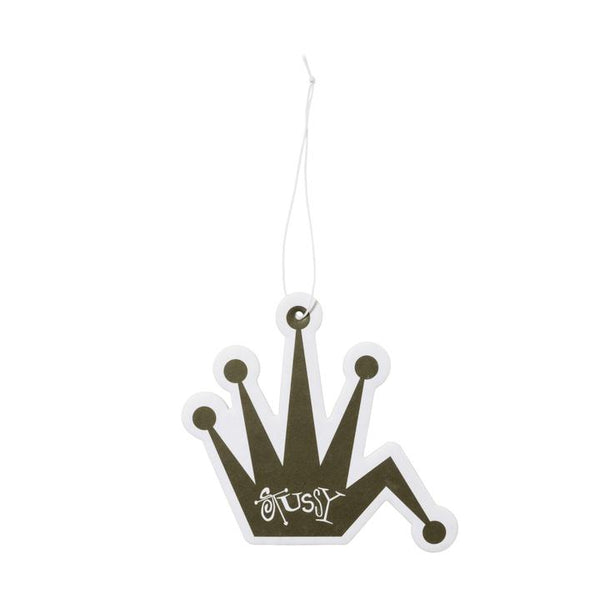 Stussy 138718 Bent Crown Air Freshener Black (New Car) available at off the hook montreal