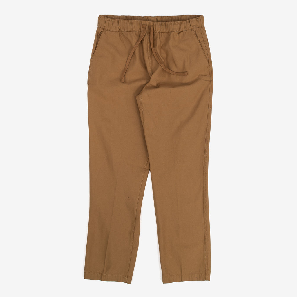 The Ideals Organic Traveler Pant in Khaki are made as part of Obey's Ideals line, which looks to mitigate their environmental impact as much as possible. They come in a straight fit with a slight taper at the ankle. 100% Organic Cotton Product code: 142020160.KHA off the hook oth streetwear boutique canada montreal