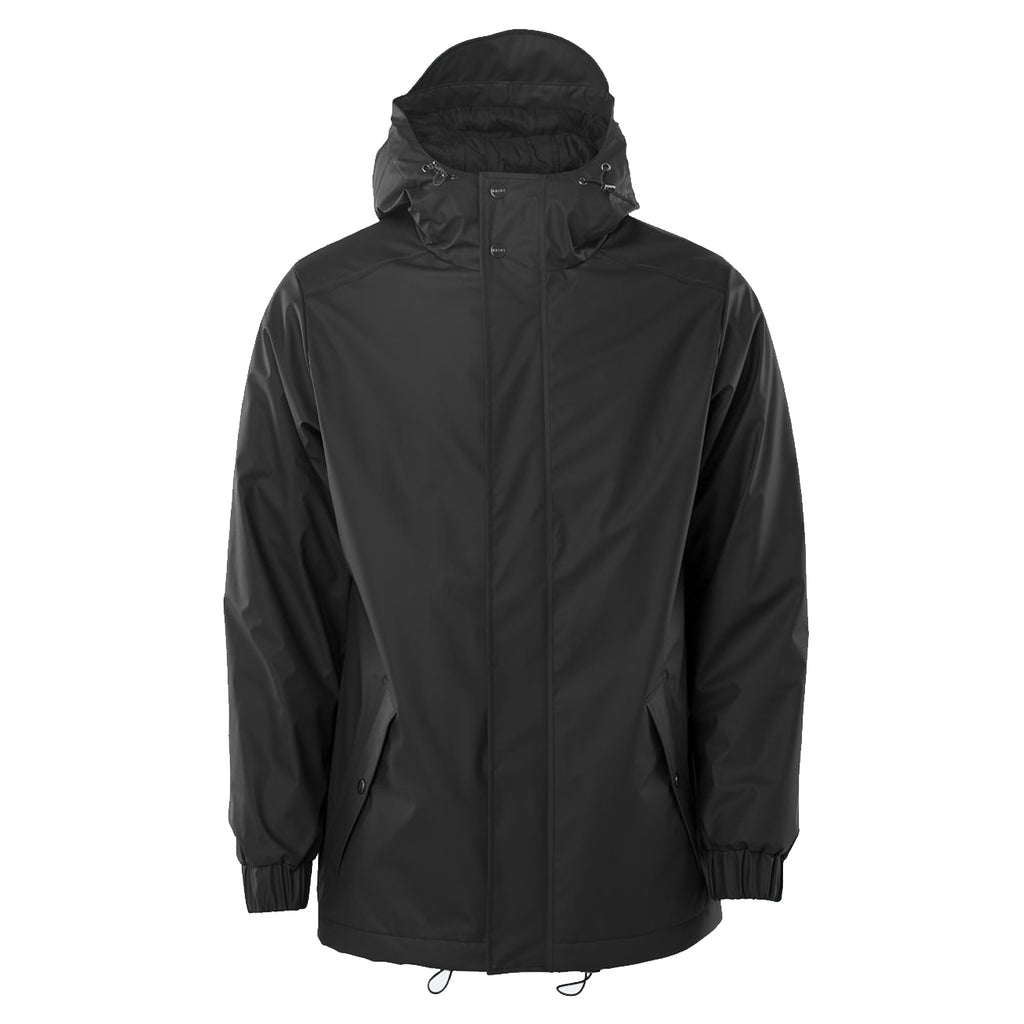 Quilted Parka Black