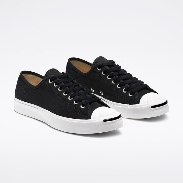 Jack Purcell Ox Black/White front available at off the hook montreal
