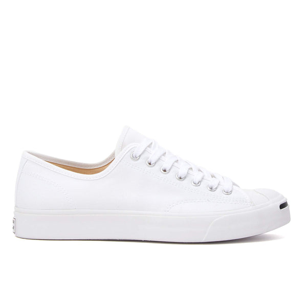 "SIMPLICITY, WITH A SMILE.  Originally made for badminton, the Jack Purcell sneaker has become an icon for low-key expression. Dressed up or down, on or off the court – the signature ""smile"" adds just enough edge.  Product code: 164057C JP OX white off the hook oth sneakers shoes boutique canada montreal"