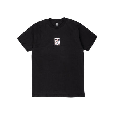 165262587 OBEY Double Vision Classic Tee - men's - front - available at off the hook montreal #color_black