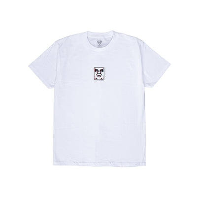 165262587 OBEY Double Vision Classic Tee - men's - front - available at off the hook montreal #color_white
