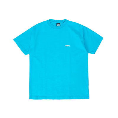 166912650 OBEY Bold 2 Heavy Weight Classic Box Tee - men's - front - available at off the hook montreal #color_aqua
