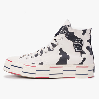 Converse x Brain Dead Chuck 70 - Egret Black / French Toast / Bone - Side - Off The Hook Montreal