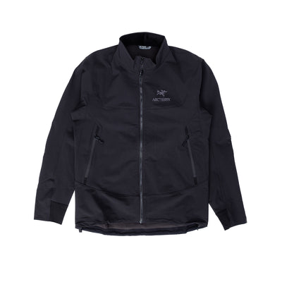 Arcteryx Gamma Lt Jacket - Black - Front - Off The Hook Montreal #color_black