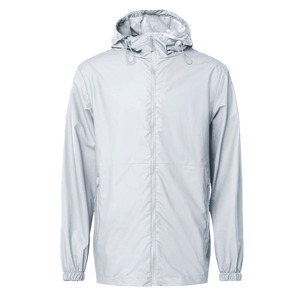 Rains 1816 Ultralight Jacket Ash - front view - available at off the hook montreal