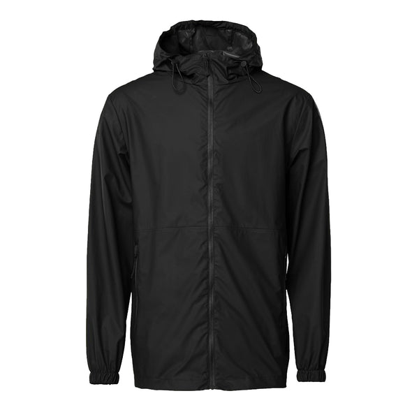 Rains 1816 Ultralight Jacket Black - front view - available at off the hook montreal