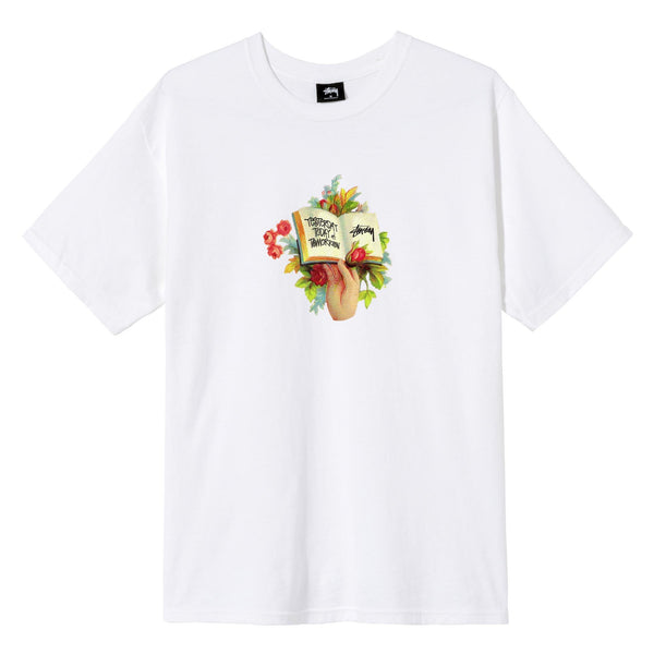 Stussy Handbook Tee - White - Front - Off The Hook Montreal