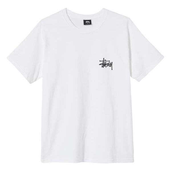 Stussy 1904578 Peace Pot Tee White front available at off the hook montreal