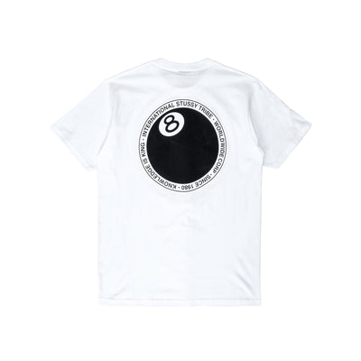 1904646 8 Ball Dot Tee - white - back - available at off the hook montreal #color_white