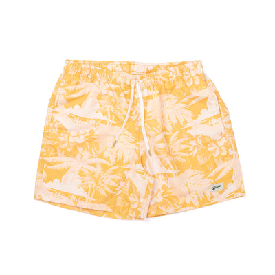 Bather Aloha Trunk - Yellow - Front - Off The Hook Montreal