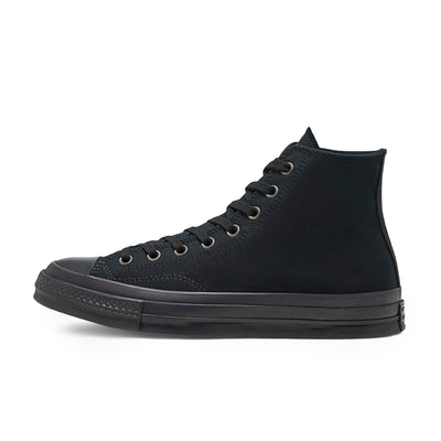 168928C Chuck 70 Hi Black/Black - men's - side - available at off the hook montreal #color_black