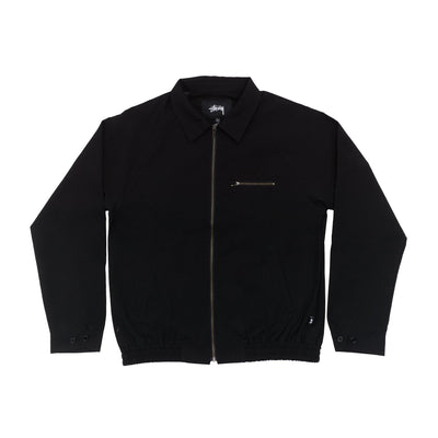 Stussy Bryan Jacket Black 115523 front available at off the hook montreal