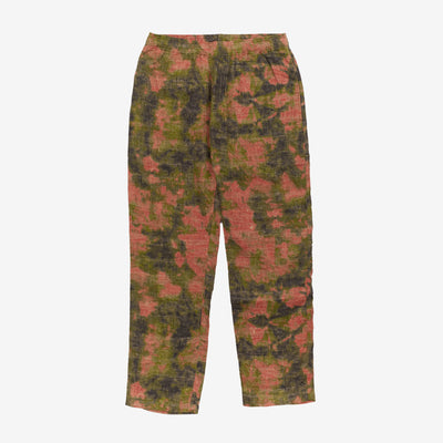 Stussy 116452 Reverse Jacquard Relaxed Pant Floral front available at off the hook montreal