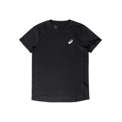 2011B863 Silver Short Sleeve Top - front - available at off the hook montreal #color_black