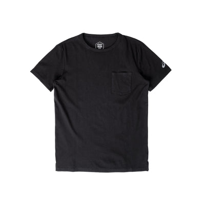 2031B949 Patched Pocket Short Sleeve Top - front - available at off the hook montreal #color_black