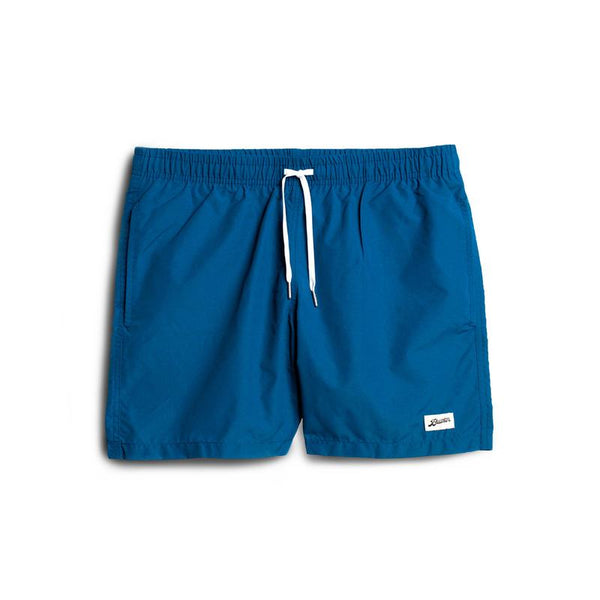 BATHER Solid Ocean Swim Trunk - Royal Blue - Front - Off The Hook Montreal