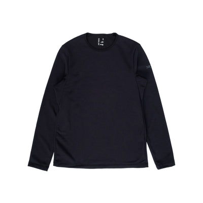 Arcteryx Dallen Fleece Pullover - Black - Front - Off The Hook Montreal #color_black