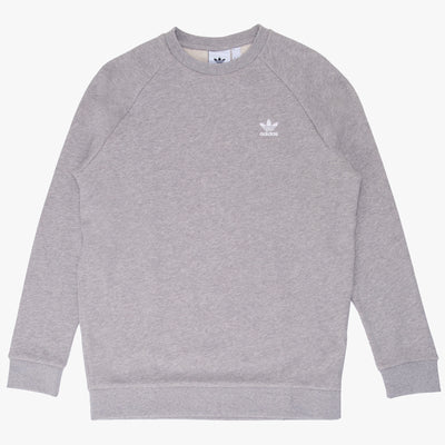Adidas Essential Cewneck - Grey - Front - Off The Hook Montreal