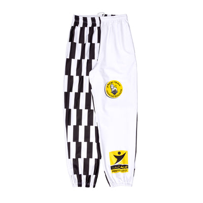 moonshine FLEECE FOOT PANT bled-15 exclusive at off the hook montreal #color_white