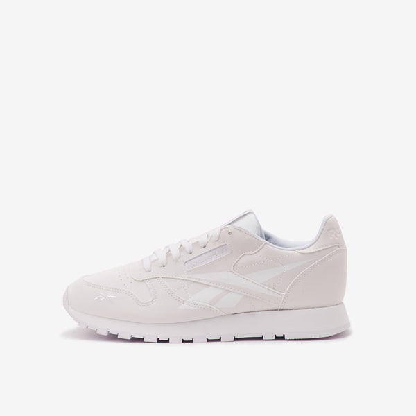 Classic Leather Men's Shoes White / White / Porcelain available at off the hook montreal