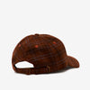 Stussy 131926 Big Logo Striped Low Cap Brown - back view - available at off the hook montreal