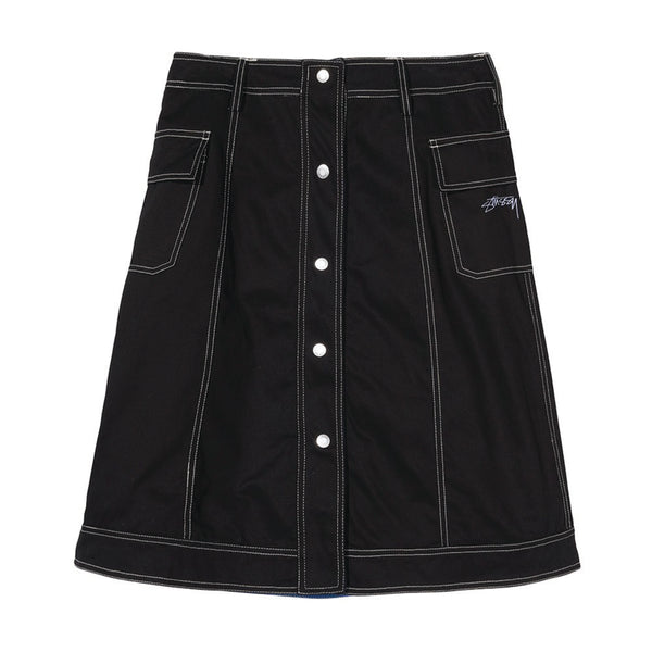 Clyde Reversible Skirt Black W