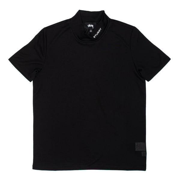 Gazer Mock Tee Black W