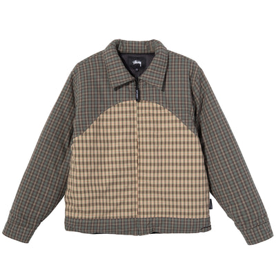 Stussy Plaid Fill Jacket - Multi - Front - Off The Hook Montreal