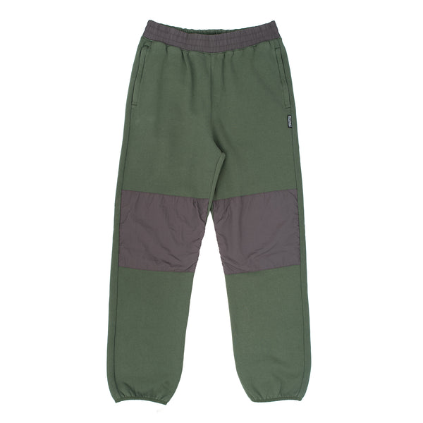Division Contrast Sweatpants Forest W