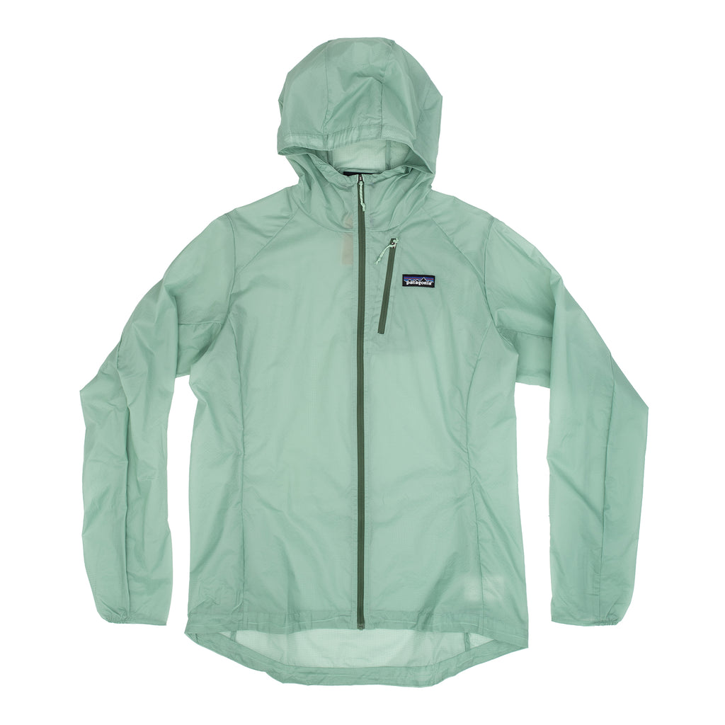 Patagonia 24147 Houdini W's Jacket Gypsum Green - vue de face - disponible à off the hook montreal